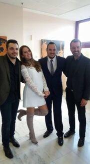 Μόλις παντρεύτηκε κρυφά γνωστός Έλληνας τραγουδιστής - Ιδού η πρώτη φωτό!