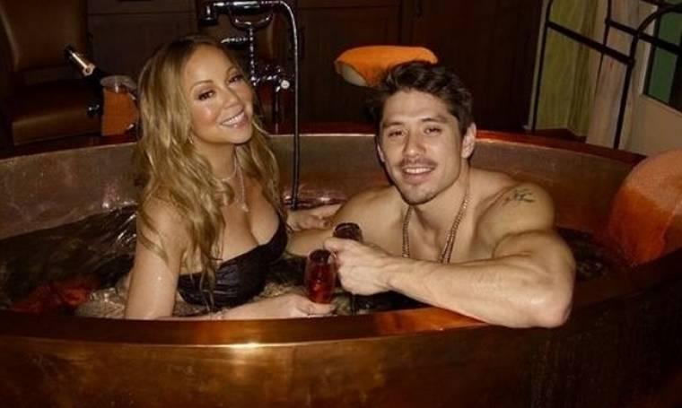 Mariah Carey: Γιόρτασε τον Άγιο Βαλεντίνο ... στο τζακούζι με τον 33χρονο αμόρε της