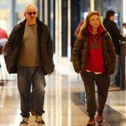 Για ψώνια με την σύζυγό του