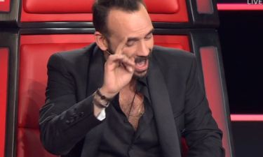The Voice: Το… σαρδάμ του Μουζουράκη που τους έκανε όλους να «κοκκινίσουν»