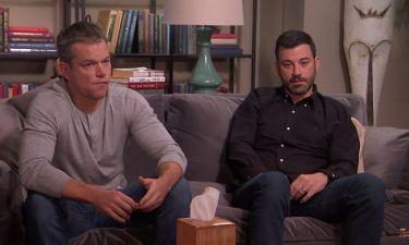Θα φτάσει στα Όσκαρ η κόντρα Μatt Damon-Jimmy Kimmel;
