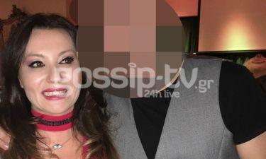 Πόπη Μαλλιωτάκη: Δείτε ποιον παρουσιαστή συνάντησε σε βραδινή της έξοδο (φωτο)