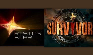 Survivor Vs Rising Star: Πρώτη «μάχη» τηλεθέασης και νικητής είναι…
