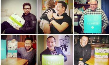 Δείτε ποιοι διάσημοι μπαμπάδες αλλάζουν πάνες