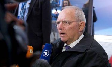 Eurogroup LIVE - Σόιμπλε από... άλλο πλανήτη: Είμαι αισιόδοξος για την Ελλάδα!