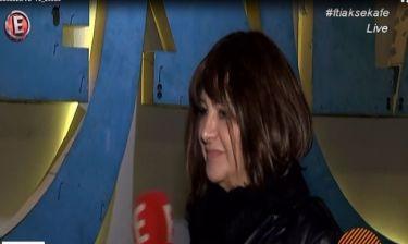 Μαρία Χούκλη: Οι πρώτες δηλώσεις μετά την αποχώρησή της από τον ΑΝΤ1