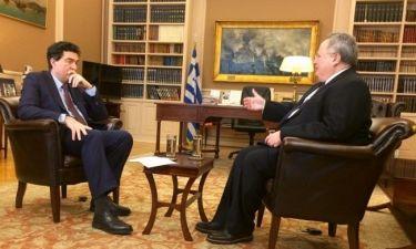 Ιστορίες: Ο υπουργός Εξωτερικών μιλά εφ' όλης της ύλης στον Αλέξη Παπαχελά