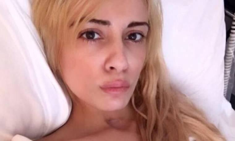 Ξανά στο νοσοκομείο η Μίνα Αρναούτη