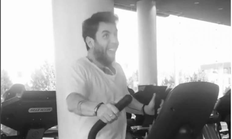 Τέτοια χαρά όταν κάνει γυμναστική…