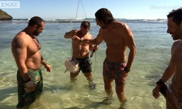 «Survivor»: Τι θα γινόταν αν οι διάσημοι έτρωγαν το ψάρι που έπιασαν;