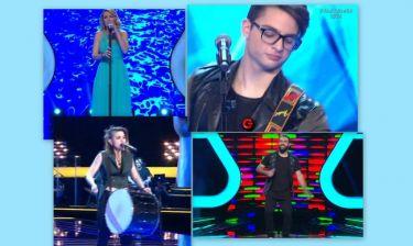 «The Voice»: «Έσκισε» στη σκηνή η δεύτερη τετράδα του ημιτελικού