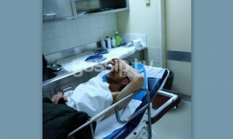 Μόνο εδώ. Ο Πάνος Καλλίδης μέσα στο νοσοκομείο (Nassos blog)