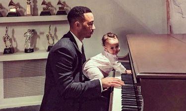 Όσκαρ 2017: O John Legend προετοιμάζεται με την κόρη του Luna
