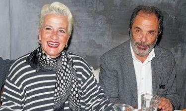 Λουκία Παπαδάκη: Ο σύντροφός της στην πρεμιέρα της