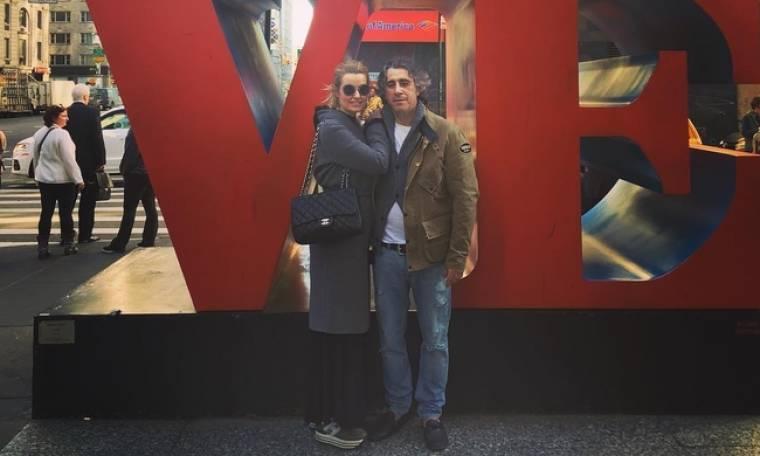Μαρία Αραμπατζή: Ταξίδι αναψυχής με τον σύζυγό της στη Νέα Υόρκη (φωτο)