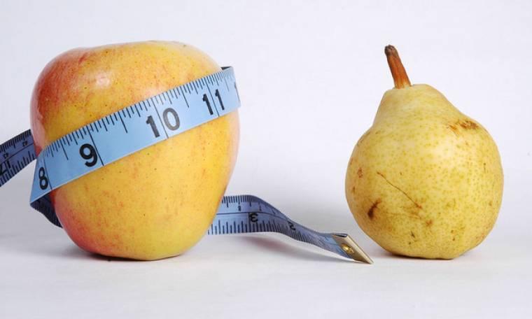 Σωματότυπος «μήλο» ή «αχλάδι»; Τι δείχνει για την υγεία σας