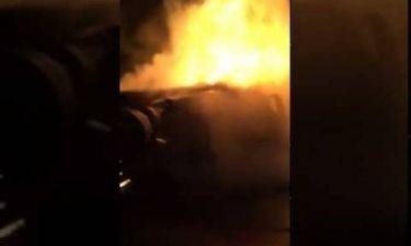 Φρίκη στην Αχαΐα: Έγκυος απανθρακώθηκε μπροστά στα δύο της παιδιά - Βίντεο σοκ