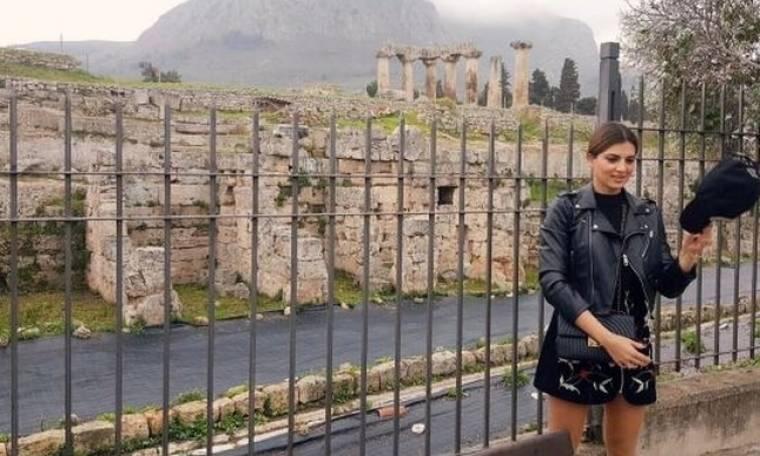 Τσιμτσιλή - Σοφός: H απόδραση με τις δύο κόρες τους στην Αρχαία Κόρινθο (φωτό)