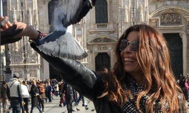 Πόπη Τσαπανίδου: Τριήμερο στο Μιλάνο!