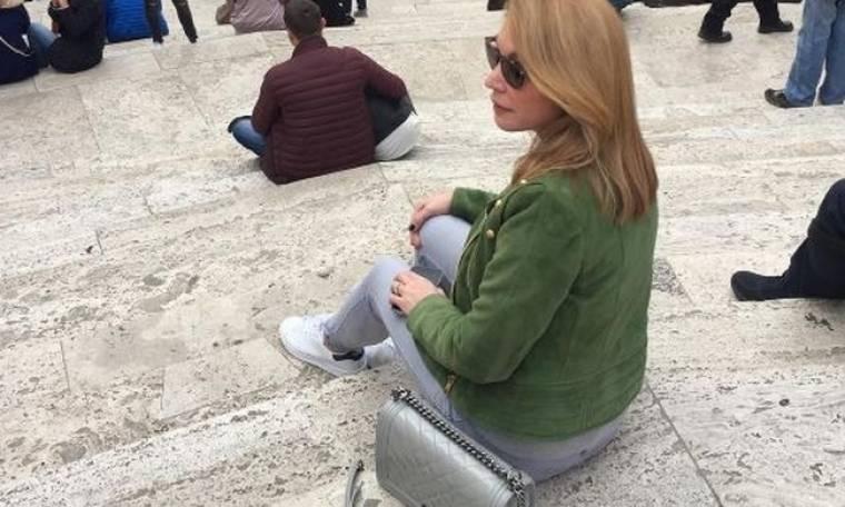 Τατιάνα Στεφανίδου: Ταξίδι στη Ρώμη