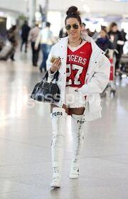 Κατερίνα Στικούδη: Ανέβασε τη θερμοκρασία στο αεροδρόμιο