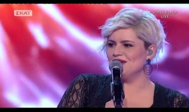 «The Voice»: Η εμφάνιση της Κασσιανή Λειψάκη στον τελικό