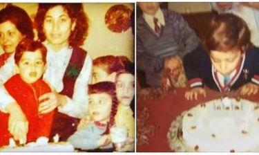 Γενέθλια για γνωστό ηθοποιό – Οι παιδικές φωτό και το μήνυμά του στο facebook