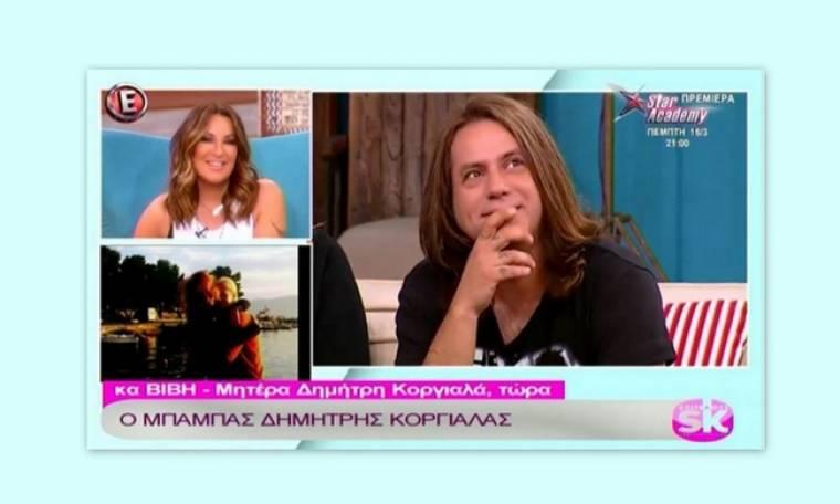 Ο Κοργιαλάς στην πρώτη τηλεοπτική του συνέντευξη μετά τη γέννηση του γιου του! Τρελαμένος από χαρά!