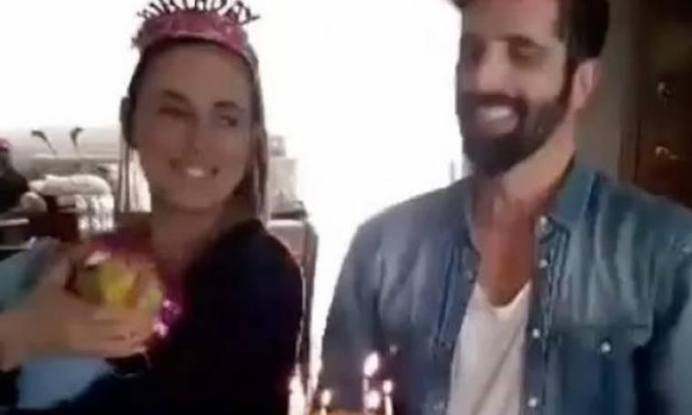 Θανάσης Βισκαδουράκης: Τα πρώτα γενέθλια με το γιο του