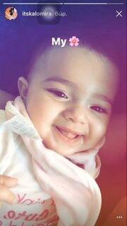 Καλομοίρα: Δείτε πόσο μοιάζει με την επτάμιση μηνών κόρη της
