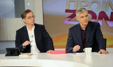 Γιώργος Δαράκης: «Με ανησυχούν τα νούμερα τηλεθέασης αν υπάρξουν διακυµάνσεις τους»