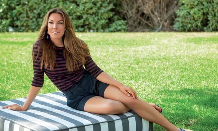 Τατιάνα Στεφανίδου: Ρεμβάζει στο μπαλκόνι του σπιτιού της (φωτό)
