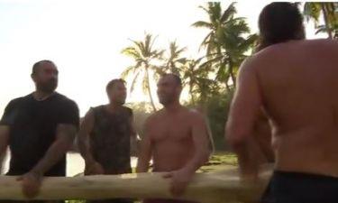 Survivor: Δείτε τι κάνουν οι Διάσημοι για να ρίξουν μια καρύδα με αρχηγό τον Bo