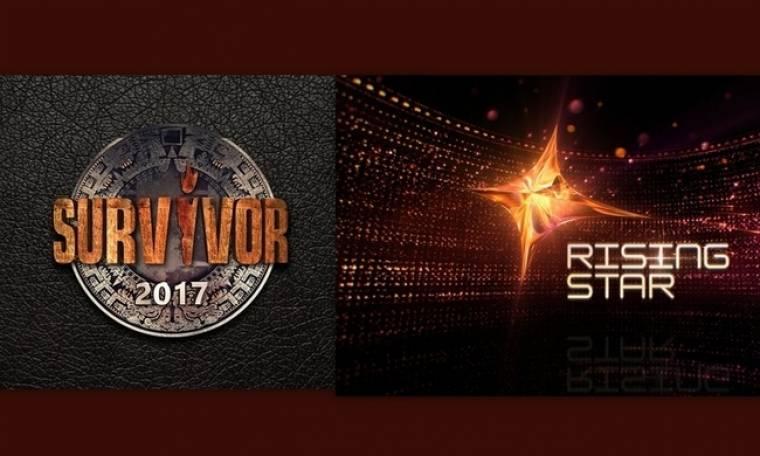 Το Survivor (πάλι) «κατατρόπωσε» το Rising Star και στον ΑΝΤ1 θα χρειαστούν χαρτομάντηλα!