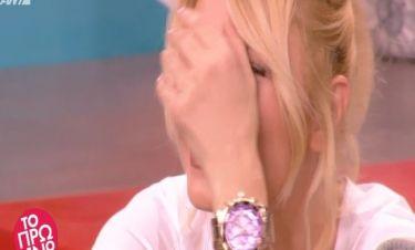 Η Φαίη Σκορδά έπεσε on air στο Πρωινό