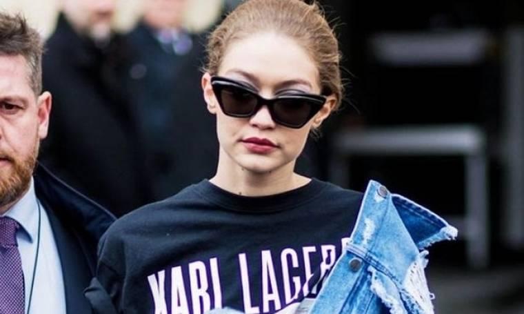 H Gigi Hadid μόλις φόρεσε το πιο cool T-Shirt το οποίο κοστίζει λιγότερο από 35 Ευρώ