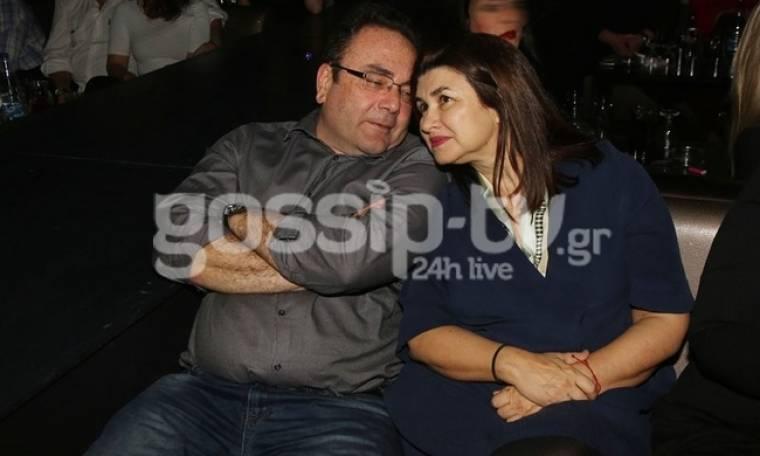 Άννα Κουρή: Με τον σύζυγό της στην Μελίνα Ασλανίδου
