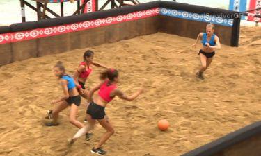 Τι το θες το Champion League όταν τα κορίτσια του Survivor παίζουν ποδόσφαιρο στην άμμο;