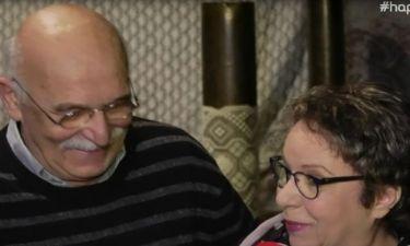 Αντώνης Αντωνίου: Τα τρυφερά λόγια on camera για τη γυναίκα του