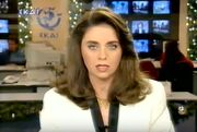 Αγνώριστη! Δείτε την Έλλη Στάη πριν 23 χρόνια να παρουσιάζει δελτίο ειδήσεων