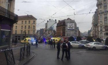 Ισχυρή έκρηξη στις Βρυξέλλες - Πολλοί τραυματίες