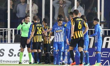 Ατρόμητος-ΑΕΚ 0-1: Επιτέλους νίκησε εκτός έδρας, «καρμανιόλα» οι βοηθοί!