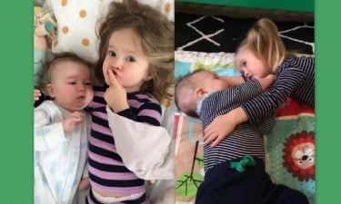 Χαλαρές στιγμές με τα παιδιά της για τη γνωστή ηθοποιό