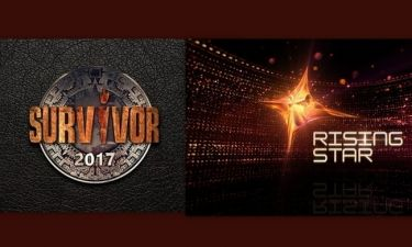 Survivor Vs Rising Star: Θα τρίβετε τα μάτια σας με τη διαφορά τηλεθέασης!
