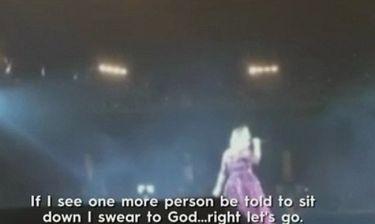 Αdele: Τα έβαλε με τον σεκιούριτι κατά τη διάρκεια της συναυλίας της