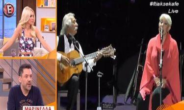 Κατερίνα Καινούργιου: Έδωσε στεγνά Έλληνα τραγουδιστή «κάνει τέρατα»