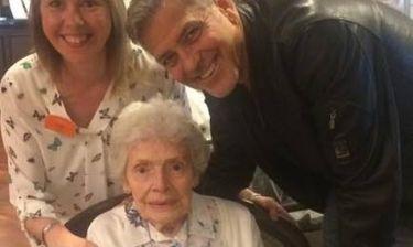 Η έκπληξη του Clooney σε ηλικιωμένη θαυμάστριά του