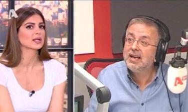 Ο Βερύκιος έκανε «με τα κρεμμυδάκια» τον Λευτέρη Λαζάρου on air στο Happy Day