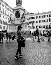 Ελένη Χατζίδου - Άρης Σοϊλεδης: Ρομαντικό ταξίδι στη Ρώμη