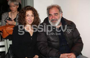 Παπαδήμα - Μποσταντζόγλου: Σε πρεμιέρα θεατρικής παράστασης